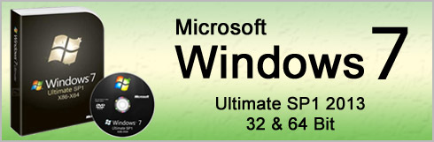 ویندوز 7 نسخه 2013 -  Windows 7 Ultimate SP1 2013, 32-64 Bit
